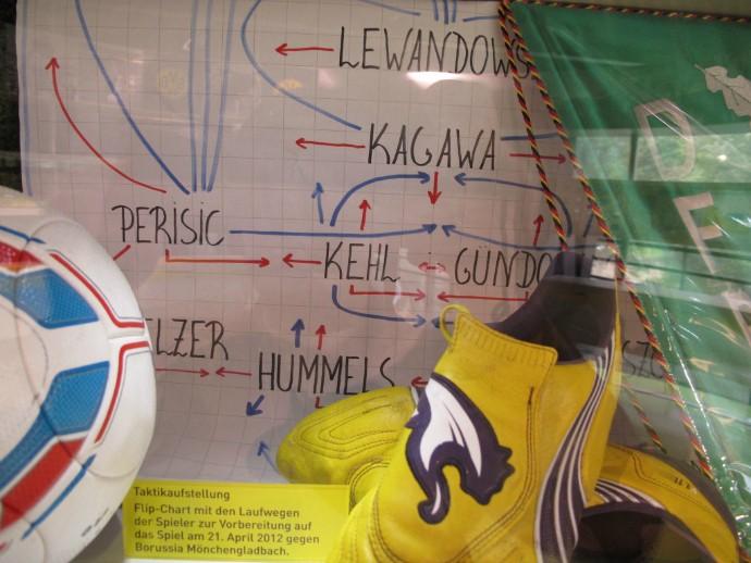 Desenho tático de Klopp para jogo do Borussia em 2012