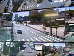 São Carlos instala novas câmeras (Foto: Reprodução/EPTV)