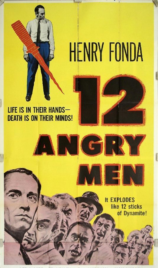 12 Homens e uma Sentença (1957) - Sidney Lumet (Foto: Divulgação)