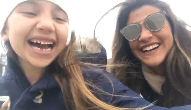 Olivia e Giulia Costa (Foto: Reprodução)