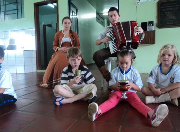 televisando origens (Foto: Divulgação/RPC)