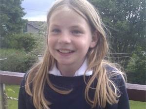 A blogueira escocesa Martha Payne, de 9 anos (Foto: Dave Payne/Arquivo pessoal) (Foto: Dave Payne/Arquivo pessoal))