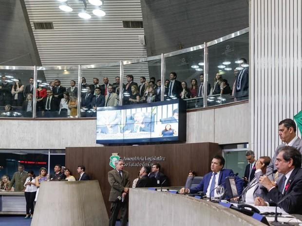 Projeto de lei recebeu 21 votos favoráveis ao aumento (Foto: Divulgação OAB-CE)