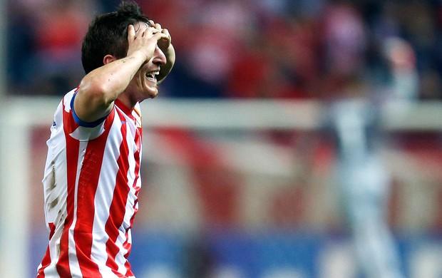 Cristian Rodriguez, Atletico de Madrid x Viktoria Pilsen (Foto: Agência Reuters)