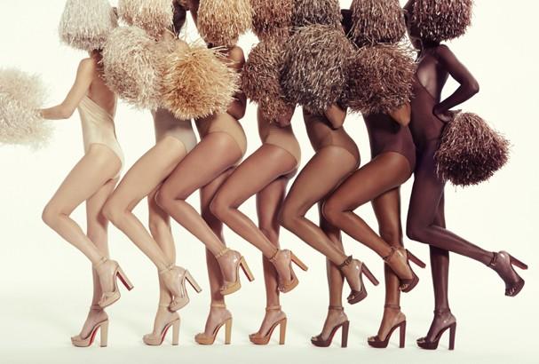 Louboutin lança coleção com vários tons de nude (Foto: Divulgação)