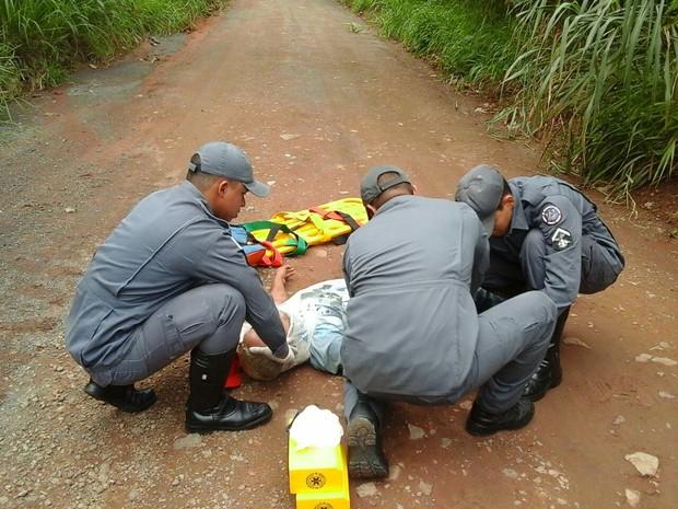 fuga divinópolos (Foto: Polícia Militar de Divinópolis/Divulgação)
