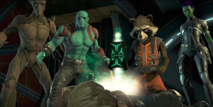 Análise de Marvel's Guardians of the Galaxy The Telltale Series -Under Pressure (Foto: Reprodução/YouTube)
