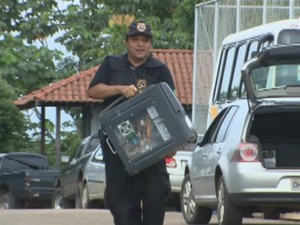 Operação Zagan foi deflagrada nesta quarta-feira (27) (Foto: Reprodução/TV Acre)