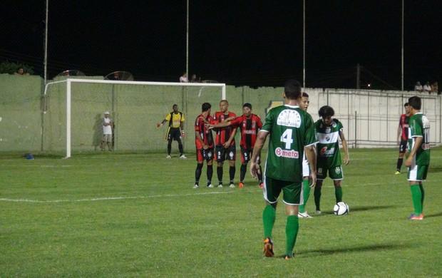 Coruripe e Santa Rita no Estádio Gerson Amaral, em Coruripe (Foto: Leonardo Freita (GloboEsporte.com))