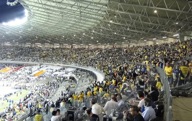 Mineirão Brasil x Chile (Foto: Rodrigo Fuscaldi)