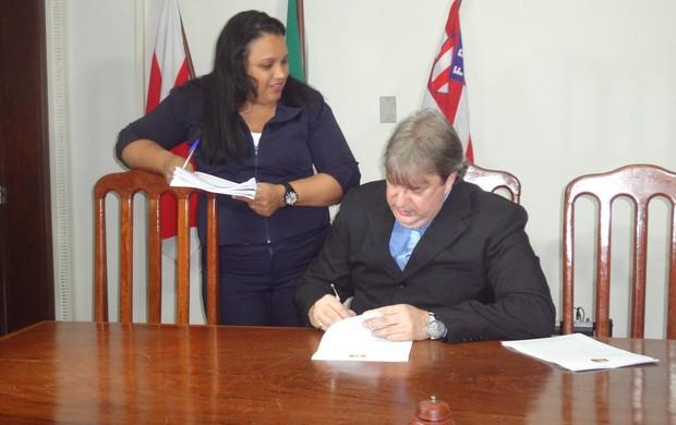 Antonio Cândido Barra Brito, presidente do Tribunal de Justiça Desportiva (Foto: GLOBOESPORTE.COM)