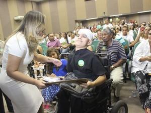 Francisco Domingo foi o paciente de número 1 milhão (Foto: Gilcilene Araújo/G1)
