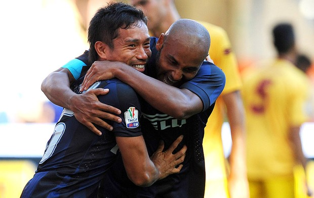 jonathan nagatomo internazionale gol Cittadella (Foto: Agência Getty Images)