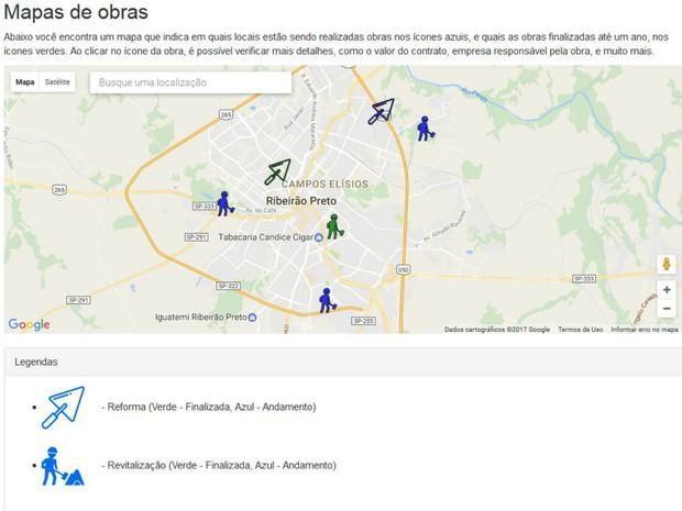Estudantes da USP mapeiam cidades através de informações do portal da transparência e fiscalizam obras públicas (Foto: Cláudio Oliveira/EPTV)