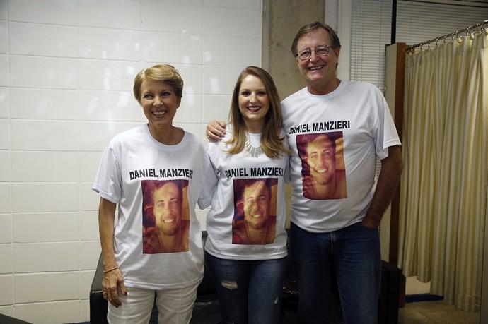 Família Daniel eliminação (Foto: Raphael Dias/Gshow)