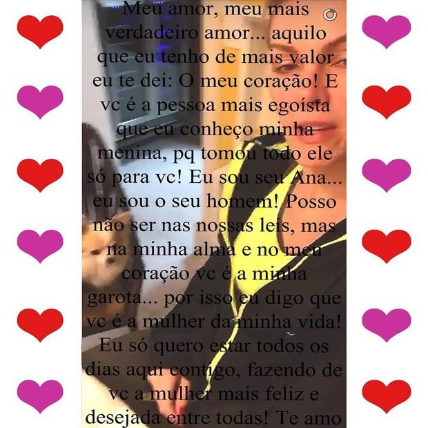 Perfil de Rodrigo Augusto (Foto: Instagram / Reprodução)