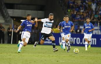 """Grêmio vibra com vantagem """"enorme"""", mas evita """"relaxar"""" para jogo da volta"""