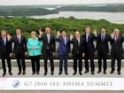 Líderes do G7 iniciam reuniões da cúpula no Japão