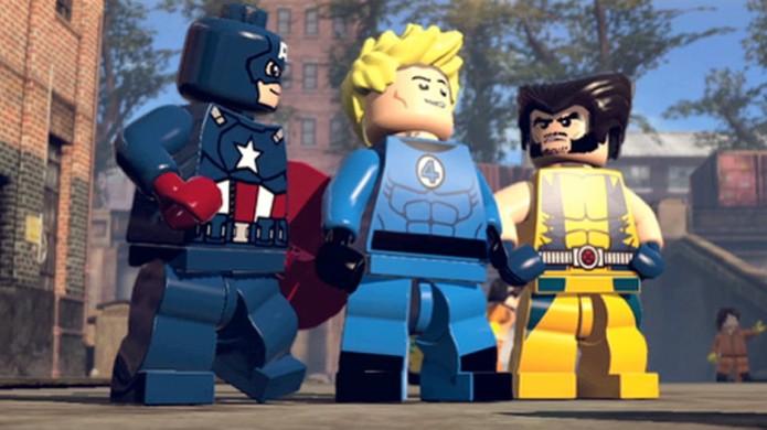 Capitão América, Tocha Humana e Wolverine estão entre os personagens de LEGO Marvel Super Heroes (Foto: pastemagazine.com) (Foto: Capitão América, Tocha Humana e Wolverine estão entre os personagens de LEGO Marvel Super Heroes (Foto: pastemagazine.com))
