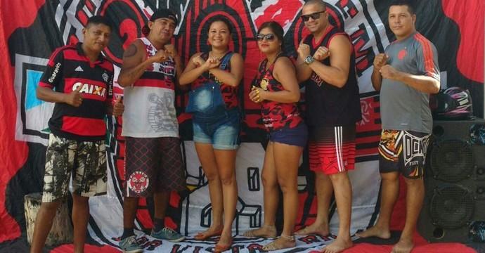 Torcida Jovem FLA Roraima (Foto: Arquivo Pessoal)