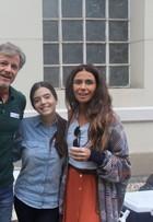 Giovanna Antonelli, Marcello Novaes e Lancellotti gravam 'Sol Nascente'