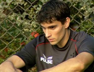 Rodrigo Pimpão em treino da Ponte Preta (Foto: Carlos Velardi/ EPTV)