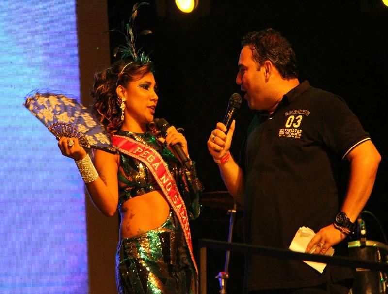 Michel Bermudes comanda a festa (Foto: Divulgação/ TV Gazeta)