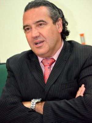 Luiz Augusto de Baggio, secretário de Cooperação de Assuntos de Segurança Pública, em Campinas (Foto: Fernando Pacífico / G1 Campinas)