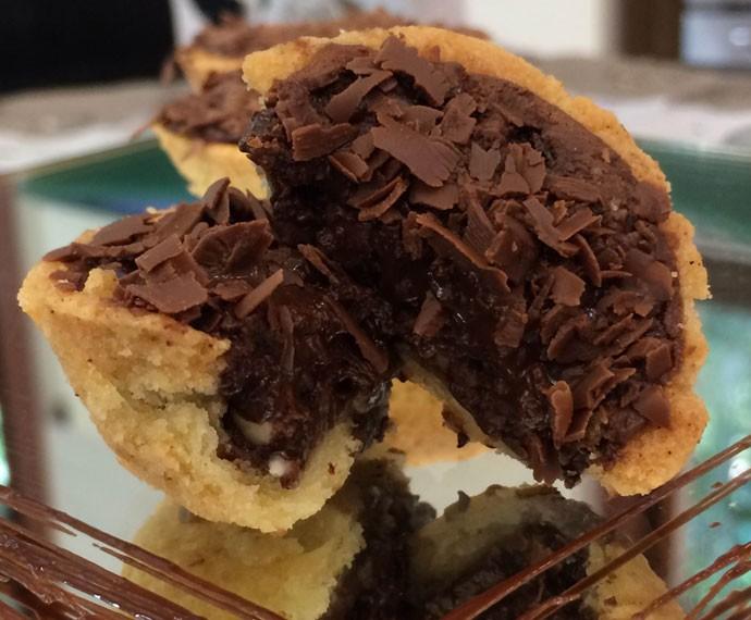 Tortinha de Brigadeiro (Foto: Mais Você/Gshow)