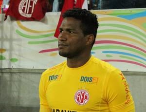 Pantera, goleiro do América-RN (Foto: Canindé Pereira/Divulgação)