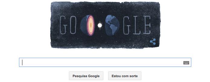 Inge Lehmann ganha homenagem no Doodle do Google (Foto: Reprodução/Google)