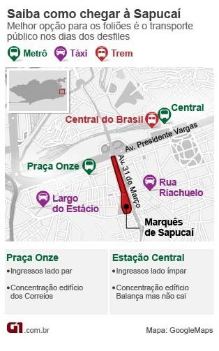 Mapa Sapucai (Foto: Editoria de Arte)
