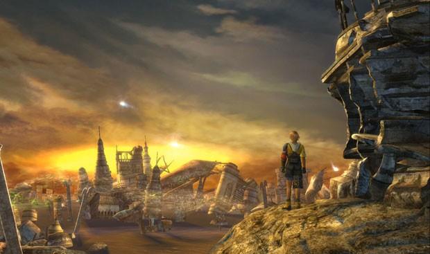 Cena de abertura de 'Final Fantasy X' na versão em HD (Foto: Divulgação/Square Enix)