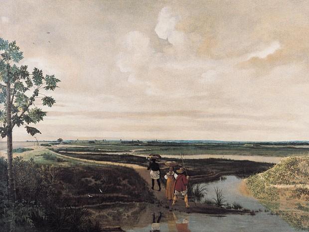 Frans Post pintou a paisagem nordestina no século XVII (Foto: Acervo Instituto Ricardo Brennand)