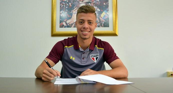 Lucas Fernandes São Paulo (Foto: divulgação / São Paulo FC)