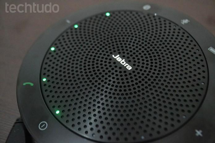 Função para conferências de áudio funciona muito bem (Foto: Aline Jesus/TechTudo)