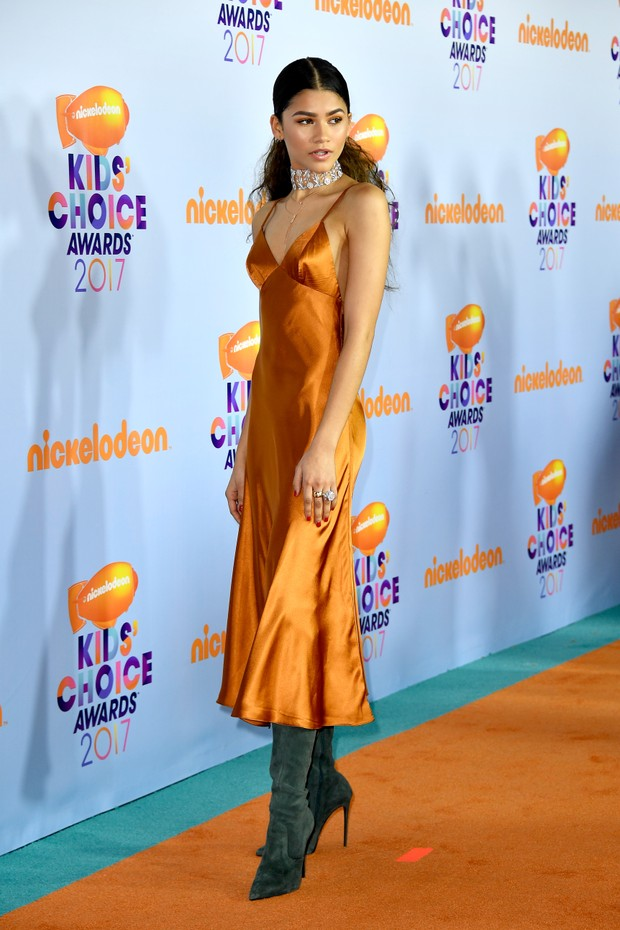 Zendaya no Kids Choice Awards (Foto: Getty Images)