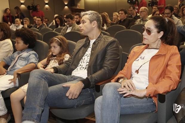Coletiva Criança Esperança - Otaviano Costa e Christiane Torloni (Foto: Alex Palarea e Felipe Assumpção/ AgNews)