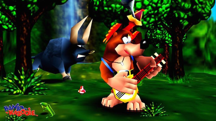 Banjo-Kazooie em versão original (Foto: Divulgação/Microsoft)