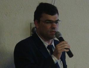 Luciano Sampaio, diretor de competições da FAF (Foto: Denison Roma/GloboEsporte.com)