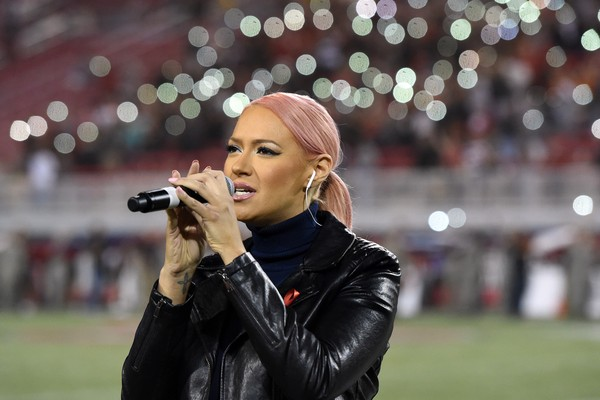 A cantora Kaya Jones (Foto: Getty Images)