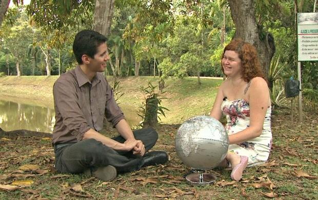 Sara Nicheli é mochileira há 10 anos e conta suas experiências pelo mundo (Foto: Amazônia Revista)