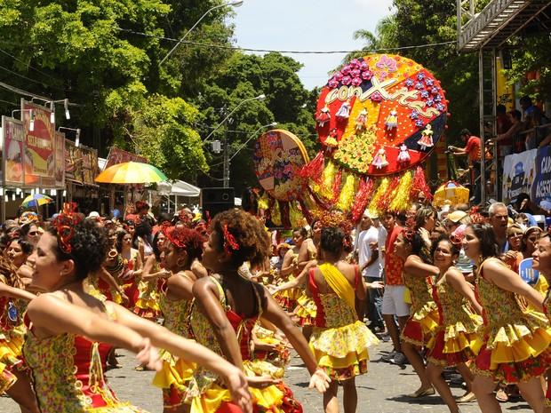 ConXitas desfilam em Olinda para comemorar aniversário de dez anos. (Foto: Diego Moraes/G1)
