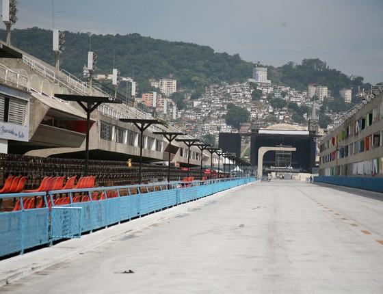 A Sapucaí carioca receberá cerca de 50 mil pessoas nos dois dias de evento (Foto: Divulgação)