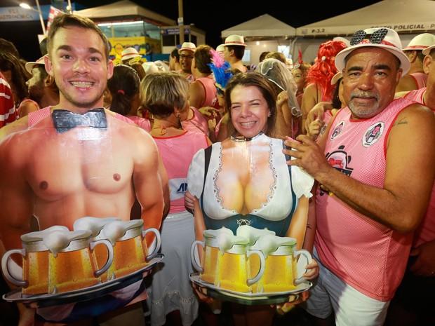Carnaval na Barra (Foto: Mauro Zaniboni/Ag. Haack)