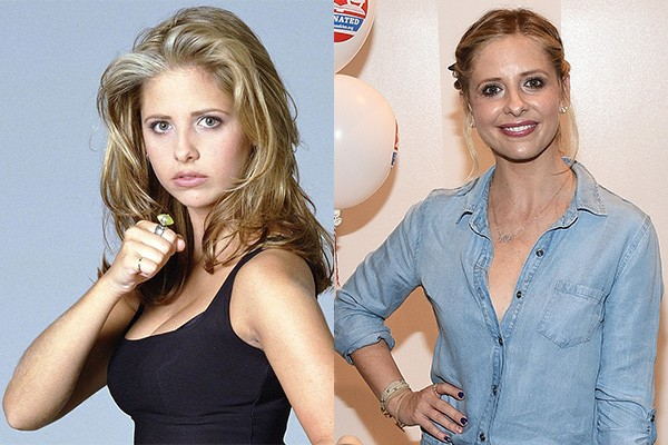 Sarah Michelle Gellar conquistou o mundo ao interpretar a protagonista Buffy em 'Buffy, a Caça-Vampiros'. Após o fim da série, a estrela fez vários filmes - vide Daphne na franquia 'Scooby-Doo' - e algumas séries de televisão que acabaram sendo canceladas com pouco tempo de vida. (Foto: Divulgação/Getty Images)