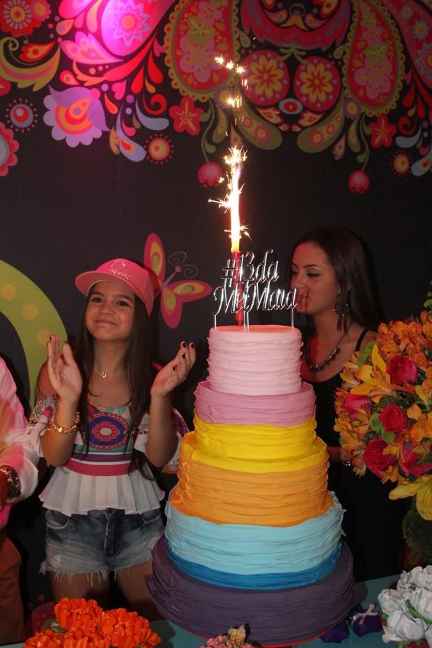 Mel Maia celebra seus 13 anos (Foto: AGnews)