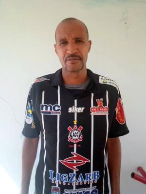 Márcio Costa, novo zagueiro do Corintians-RN (Foto: Divulgação/Corintians-RN)