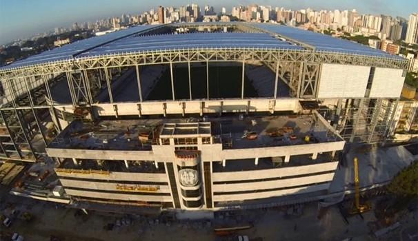Paraná TV 1ª Edição Arena da Baixada (Foto: Reprodução/ RPC TV)