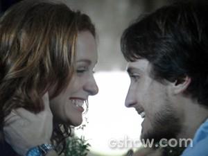 Marcelo e Priscila comemoram a decisão de morarem juntos